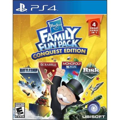 孩之寶家庭歡樂征服包  Hasbro Family Fun Pack -PS4 英文美版