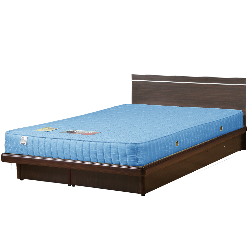 Homelike 麗緻6尺獨立筒掀床組-雙人加大掀床(四色可選)