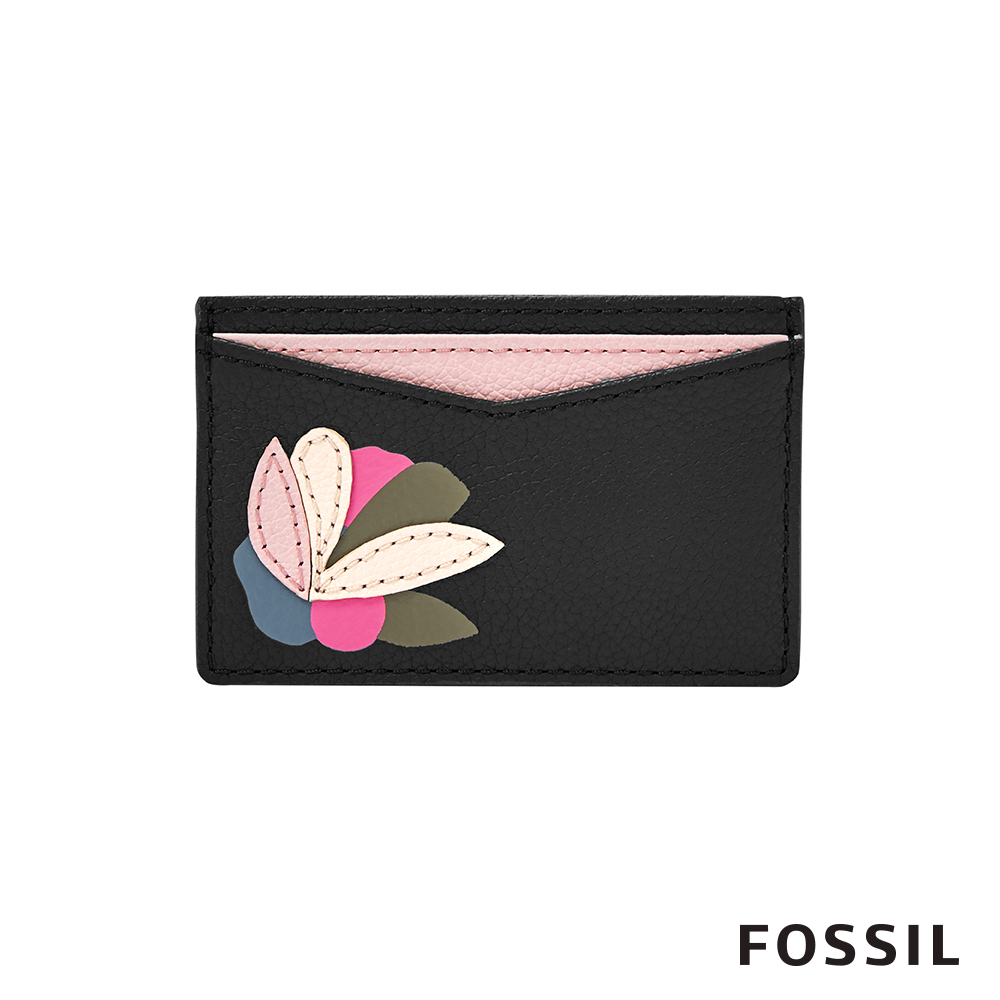 FOSSIL  CARD CASE花花名片夾