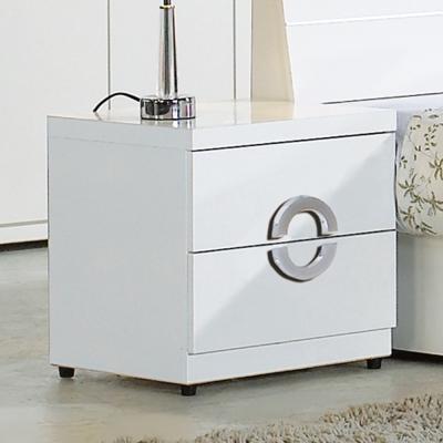 AT HOME-凱倫白色床頭櫃