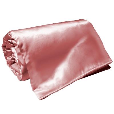 亞曼達Amanda 絲光晶漾緞面涼被-晶鑽粉