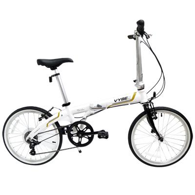 DR-HON-Vybe-C7A-20吋7速鋁合金折疊單車-車架白霜色-2013