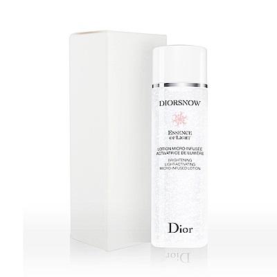 Dior迪奧 雪晶靈透亮水凝露 200ml TEST (環保盒/有蓋)