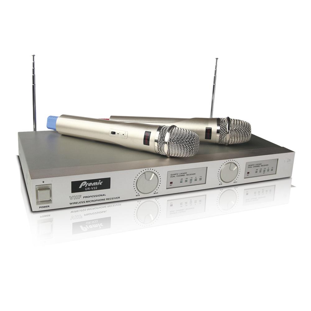 歡唱專用雙頻道VHF無線麥克風 (UR-V22 )