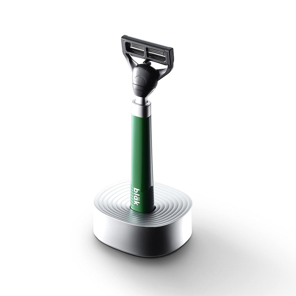 韓國 bläk 經典款手動刮鬍刀 - 綠色