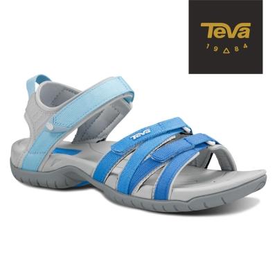 TEVA 美國 女 Tirra 機能運動涼鞋 (粉藍)