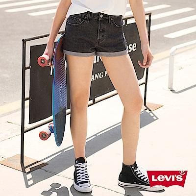 Levis 女款 短褲 501 中腰原創直筒