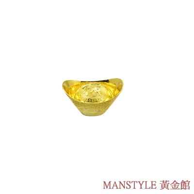 Manstyle 祿字黃金元寶 (1錢)