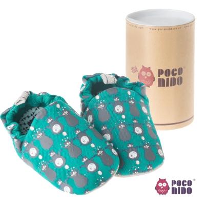 英國 POCONIDO 純手工柔軟嬰兒鞋 ( 馬戲團小熊 )
