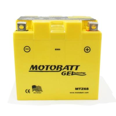 MOTOBATT MTZ6S GEL膠體長效機車電池