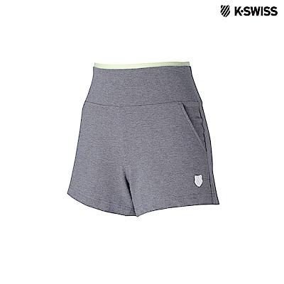K-Swiss Short Pants棉質短褲-女-灰