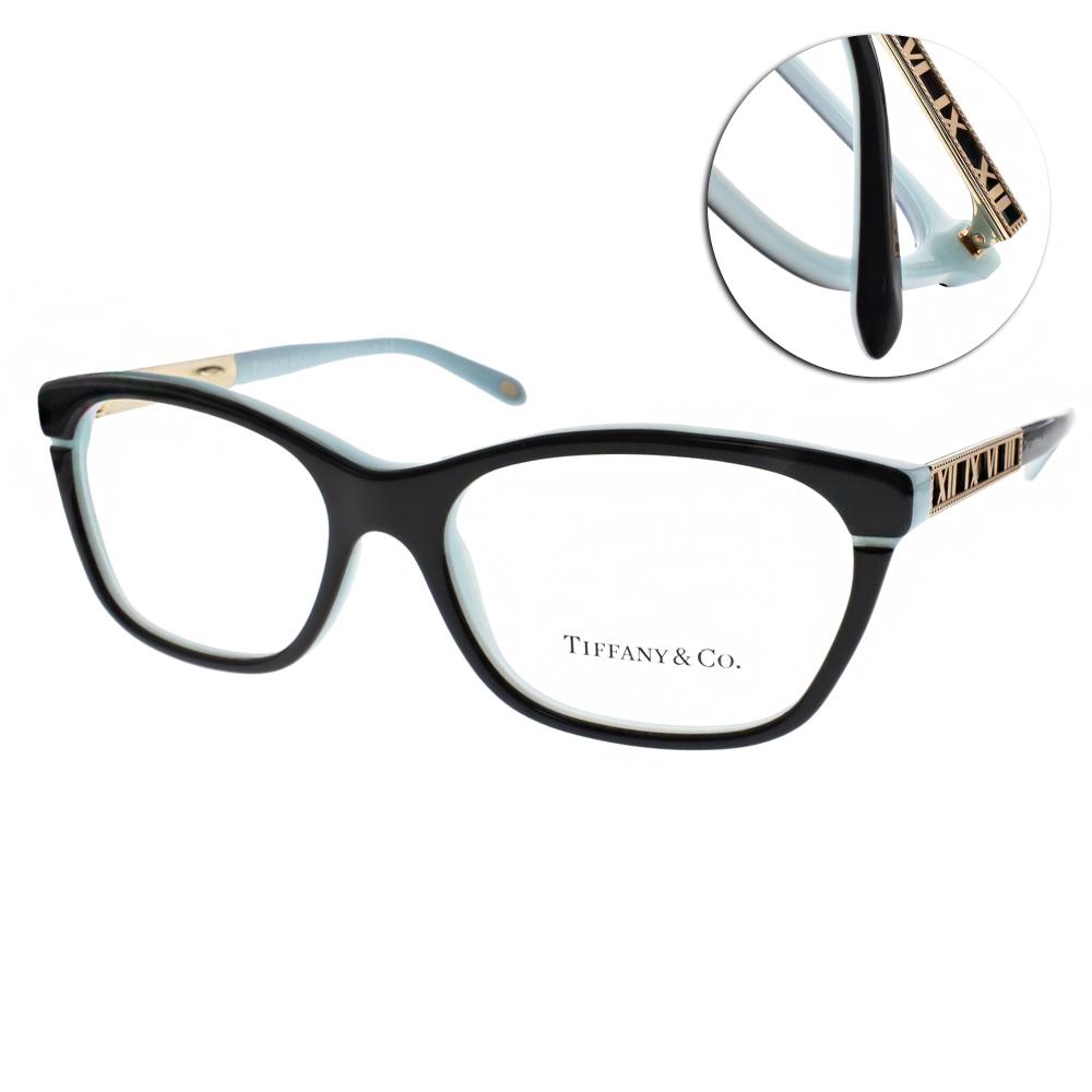 Tiffany&CO.眼鏡 羅馬數字系列/黑#TF2102 8055