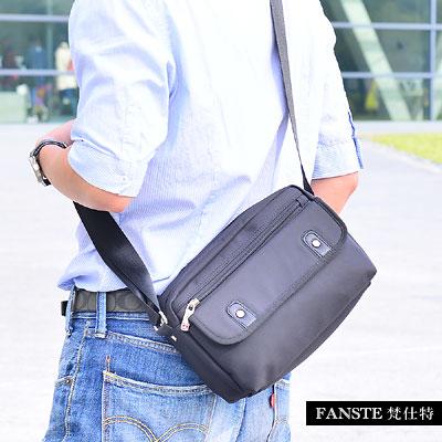 Fanste_梵仕特 側背包 多功能休閒商務包-1218