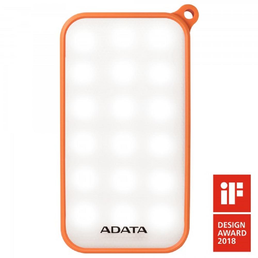 ADATA 威剛 D8000L 行動電源 8000mAh 橘色(額定容量5500mAh)