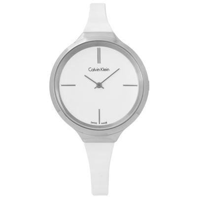 CK  Lively 簡約摩登設計手錶 -白色/34mm