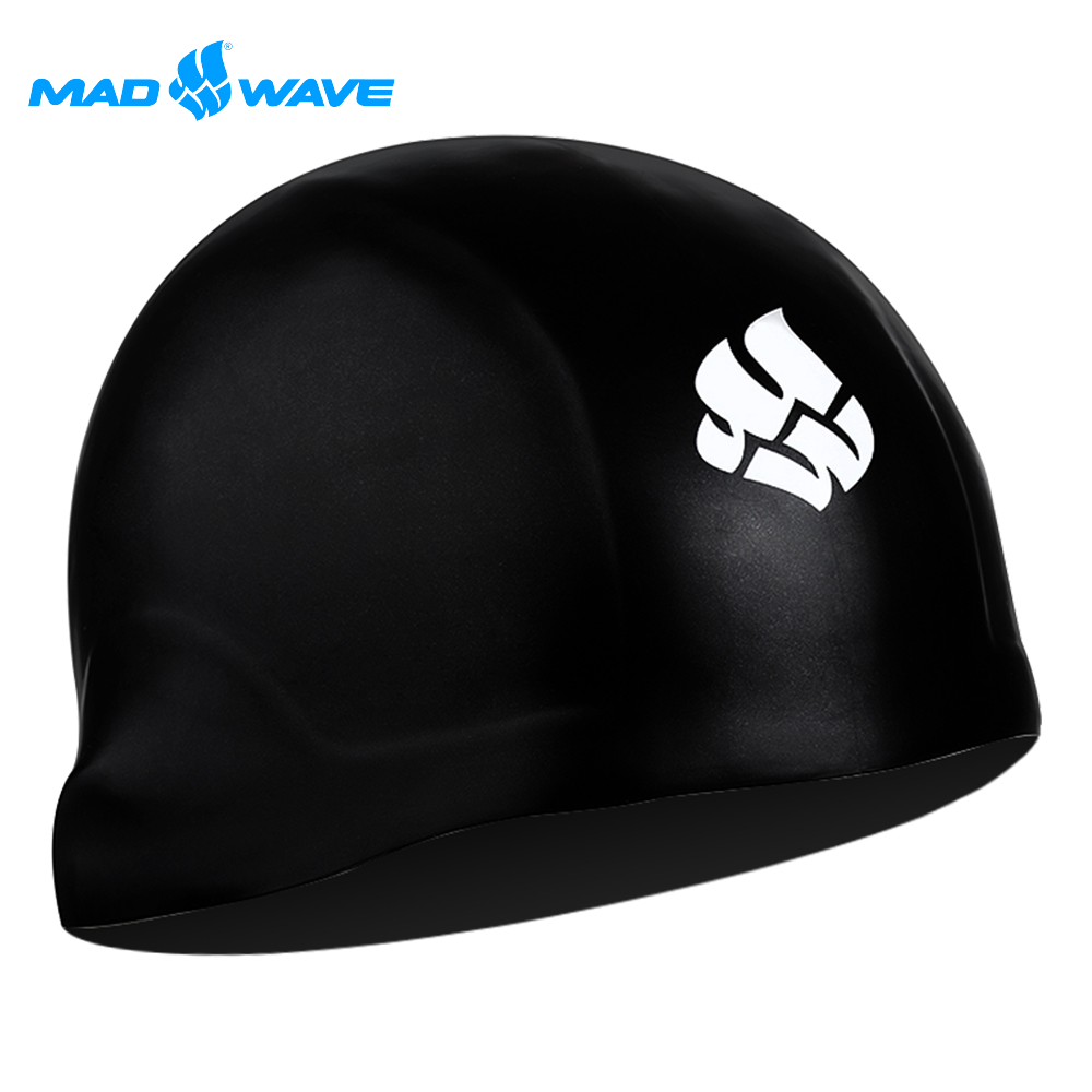俄羅斯 邁俄威 成人矽膠泳帽 MADWAVE R-CAP