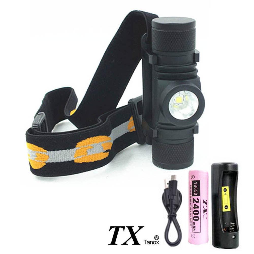 TX特林 XML-L2迷你USB充電頭燈(HD-2018-MINI)