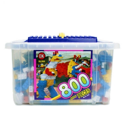 【OK積木】大型收納箱系列/小顆粒800入裝