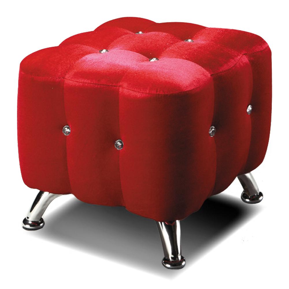 愛比家具 歐革那時尚絨布椅 三色