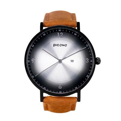 PICONO VINYL系列 輕薄真皮錶帶手錶(VL-6604)