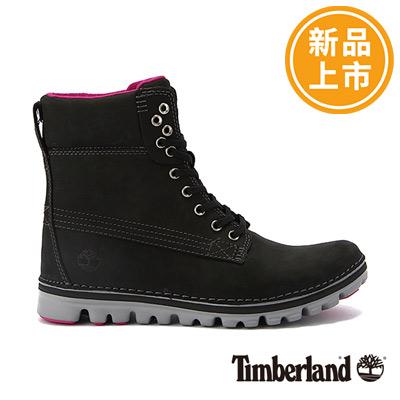 Timberland-女款黑色超輕量6吋經典靴