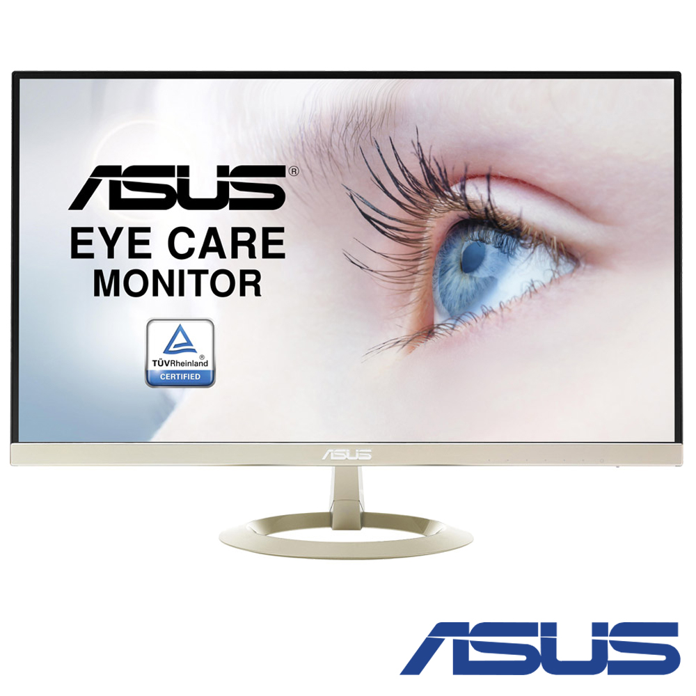 ASUS VZ27AQ 27型 WQHD 無邊框 IPS電腦螢幕