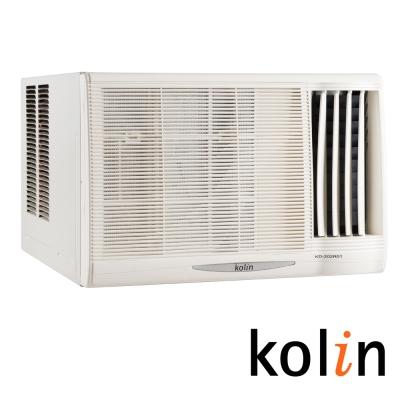 限量福利品-KOLIN 歌林 3-4坪「節能不滴水」右吹窗型冷氣 KD-232R06