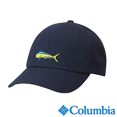 Columbia哥倫比亞 男款-抗UV50棒球帽-深藍 (UCU00110KI)