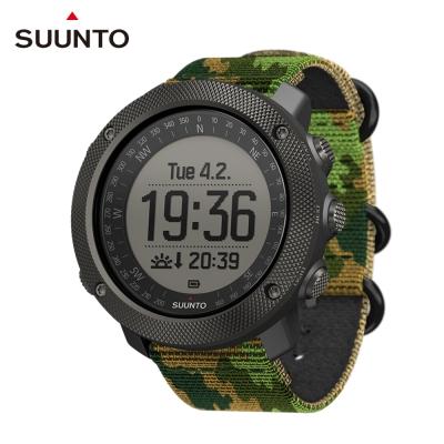 SUUNTO Traverse Alpha專為狩獵釣魚征服叢林野外的GPS腕錶-迷彩綠