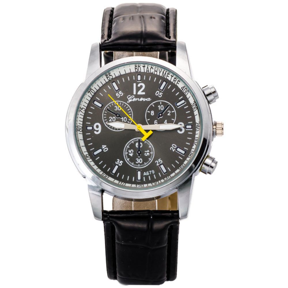 Watch-123 復仇聯盟-立體感卓越自信仿三眼腕錶/40mm