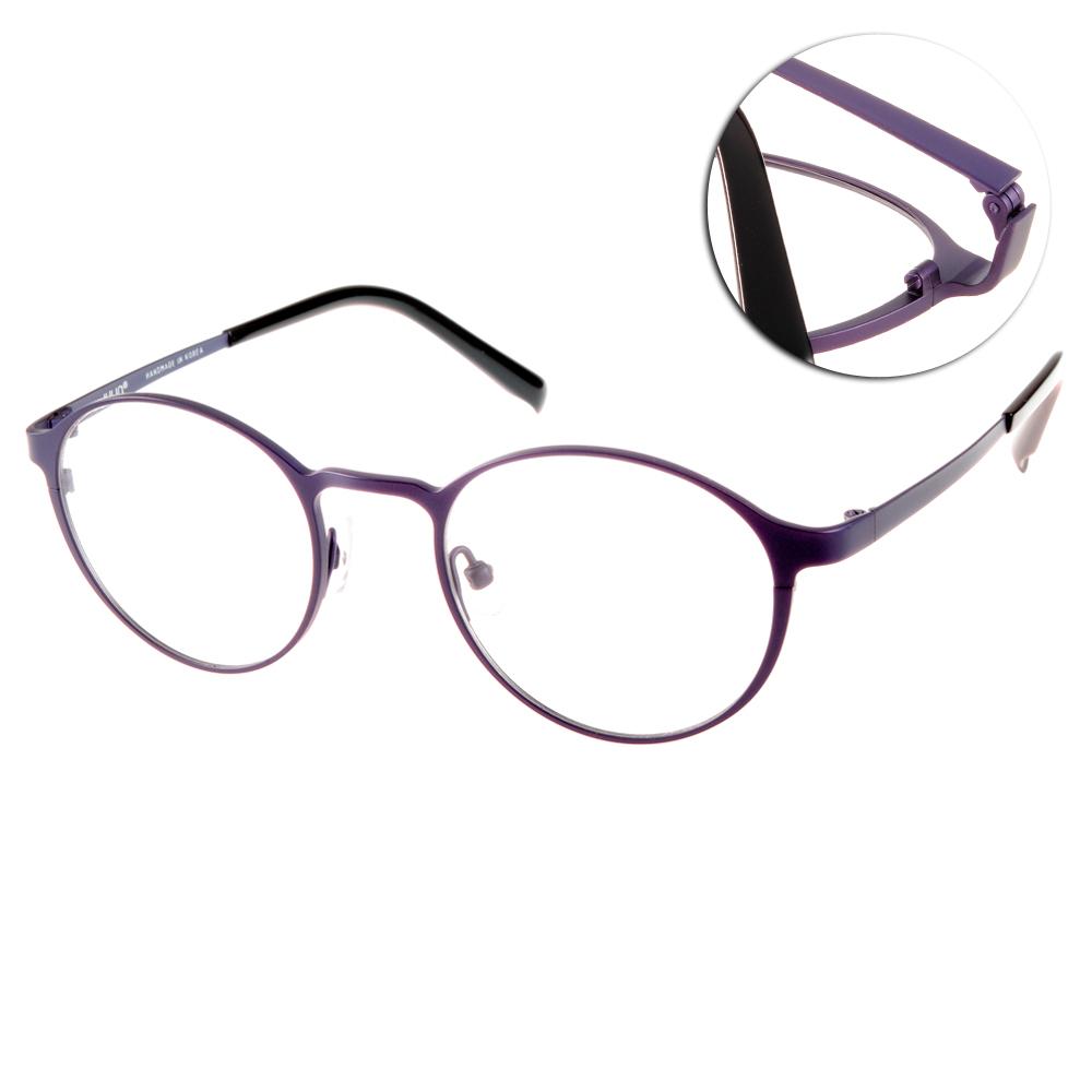 JULIO眼鏡 完美工藝/紫-黑#HAMBURG PUR