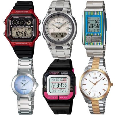 CASIO 熱門運動錶。任選2件$1799