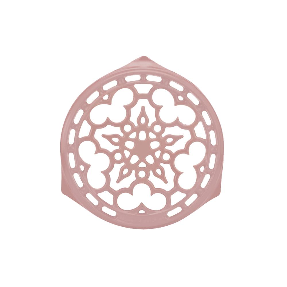 LE CREUSET 琺瑯鑄鐵鍋架 (雪紡粉)