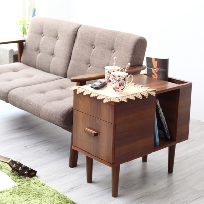 Bed Maker- 歐風優質多用途邊桌/茶几桌/沙潑邊桌/電腦桌/收納/邊几