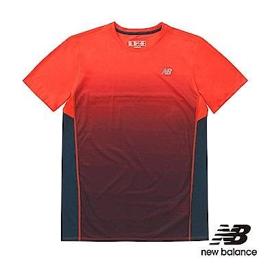 NB DRY印花短袖上衣 AMT71066AOP 男性 橘色