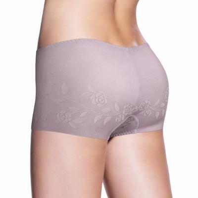 黛安芬-STRETTY小褲 零著感系列平口褲 M-EEL(深灰)
