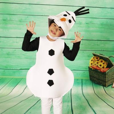 派對造型服-雪寶童裝(M)