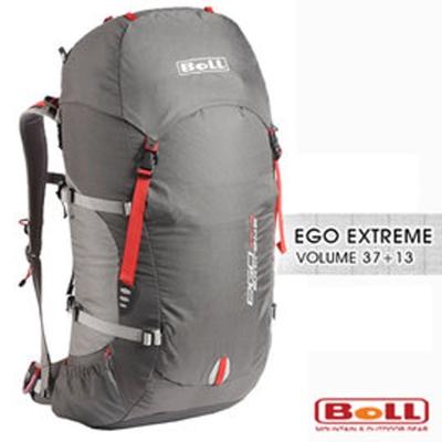 捷克BOLL新EGO EXTREME 37 13L健行登山背包灰深灰