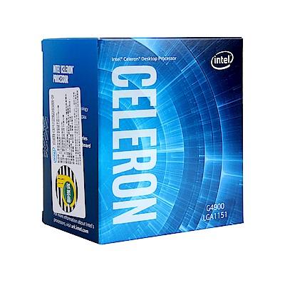 Intel 第八代 Celeron G4900 雙核心處理器(代理商貨)