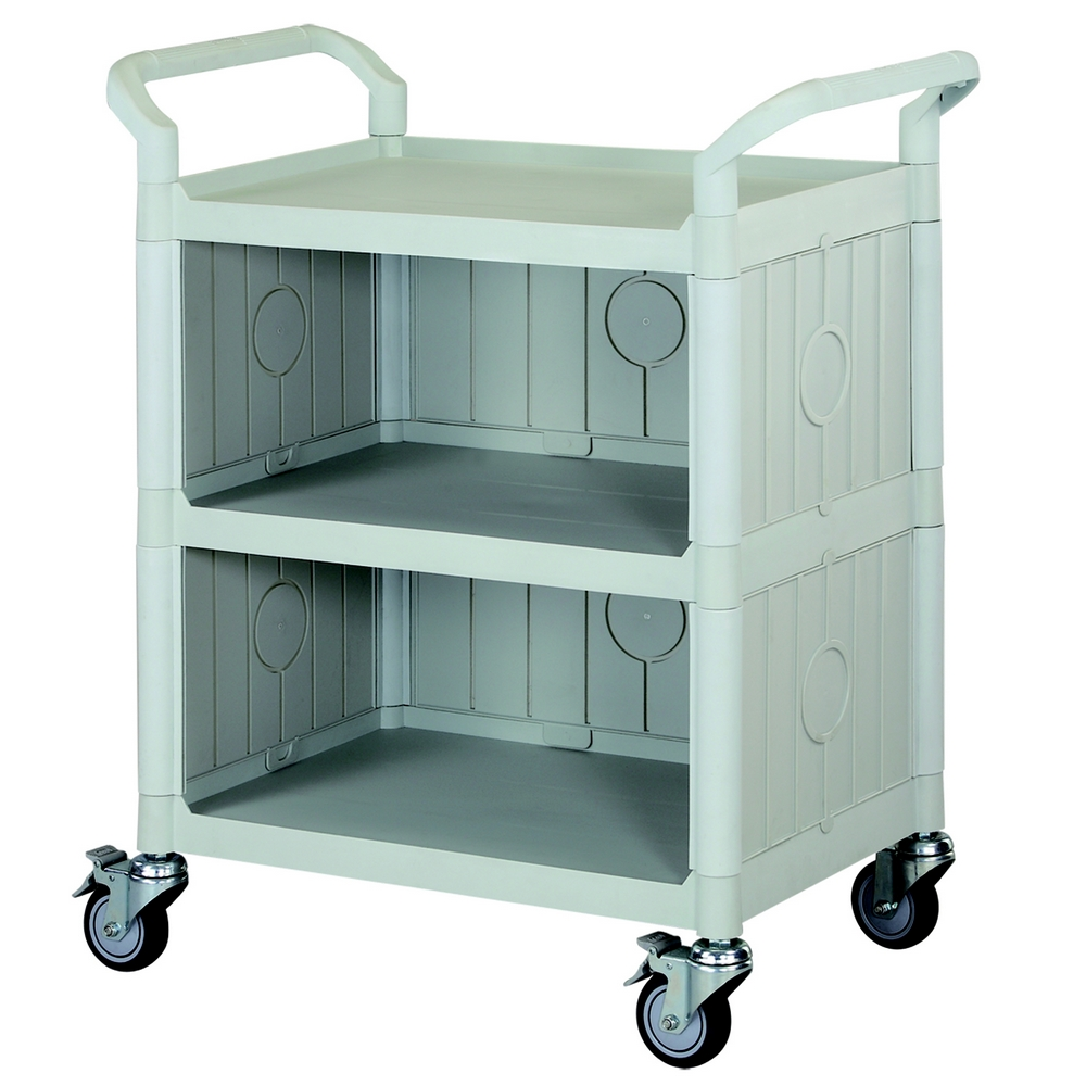 【COLOR】精緻標準型3層三面圍邊工具/餐推車