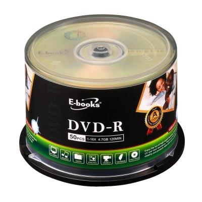 E-books 國際版 16X DVD-R 50片桶