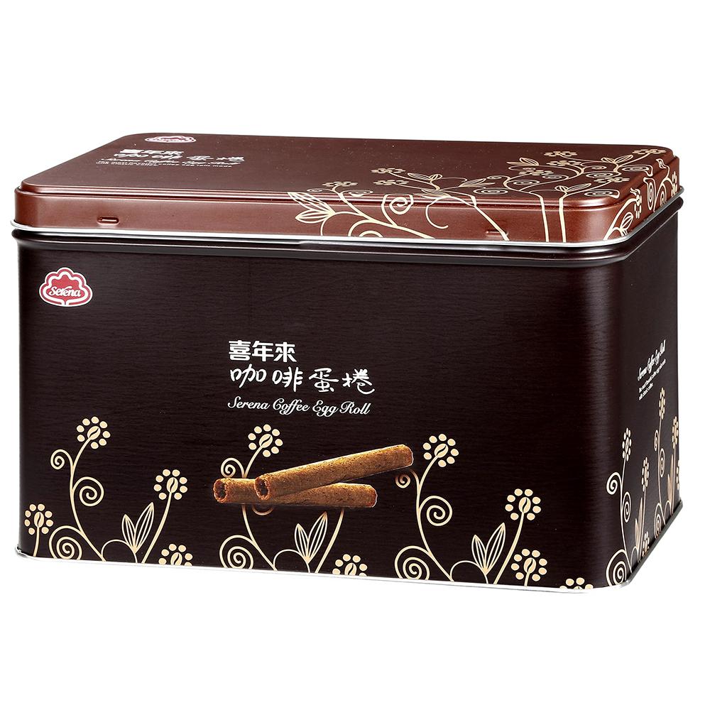 喜年來 咖啡蛋捲禮盒(320g)