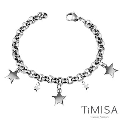 TiMISA《銀河之戀》純鈦手鍊(M)