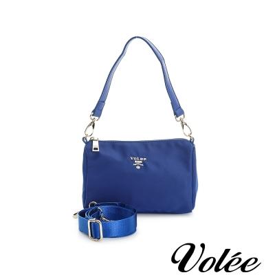 Volee飛行包 - 旅行日記隨行小包/手提包 英國藍