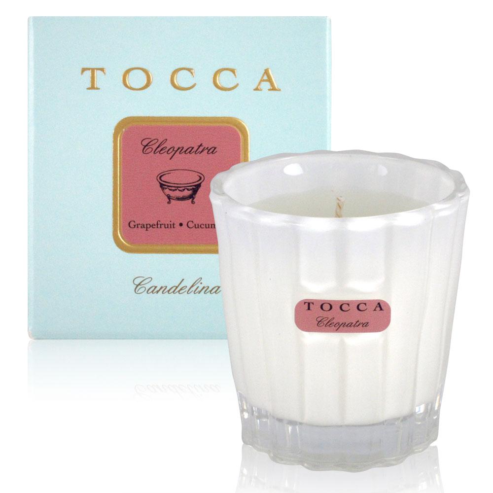 TOCCA Cleopatra香氛蠟燭(甜葡萄柚、黃瓜) 88g