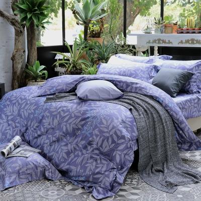HOYA H Series華爾滋 加大四件式頂級500織匹馬棉被套床包組 贈冬被