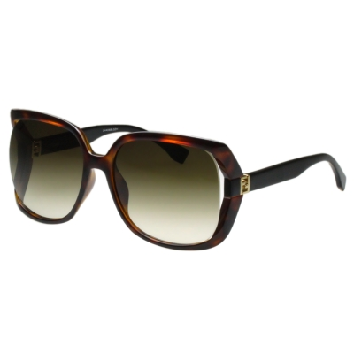 FENDI 時尚太陽眼鏡 (琥珀色)FF 0053 S