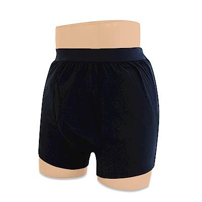日本 男用輕失禁安心保潔棉褲-深藍