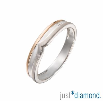 Just Diamond 無盡的愛系列18K雙色金對戒-唯一的你(男戒)