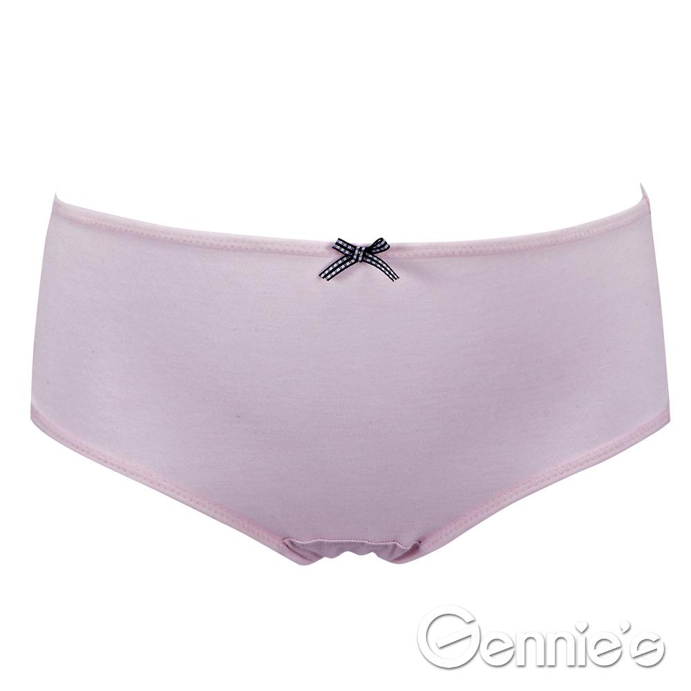 【Gennie's奇妮】牛奶紗-草莓牛奶孕哺內褲(GB62)